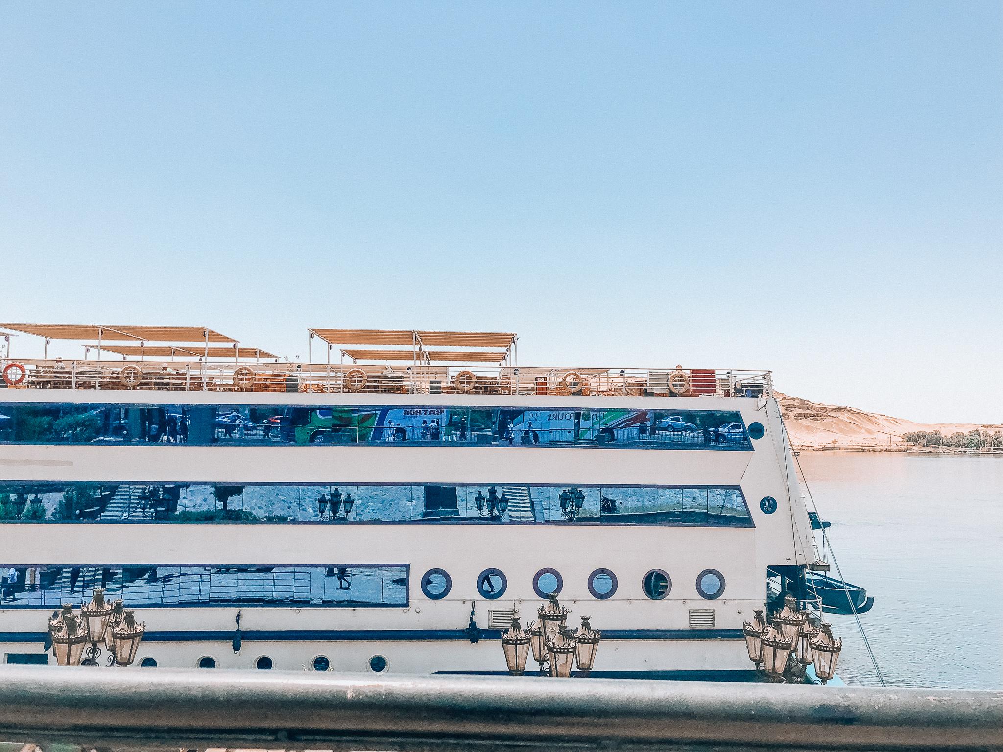 【旅行記!】エジプトのナイル川クルーズの旅の様子をお届け!【写真あり】