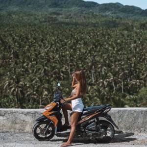 【シャルガオ島!】レンタルバイクでドライブしてきた話。【トラブルあり】