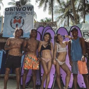 【誰でも乗れるサーフィン!】シャルガオで初めての波乗り体験!【1時間1,000円】